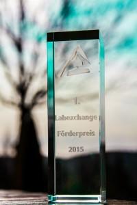 Preisbild Labexchange Förderpreis 2015