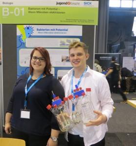 Kim Baumann (links) und Max Schwendemann (rechts)