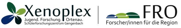 Forscher/innen für die Region | Zukunft gestalten – mit MINT Logo